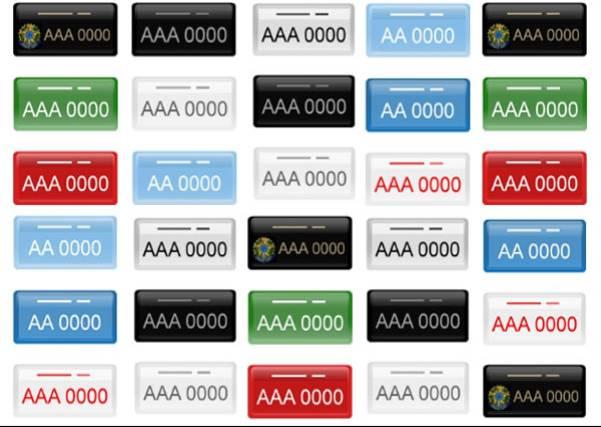 Conheça os diferentes tipos de placas de veículos e entenda o que elas significam