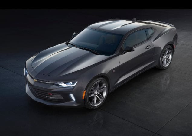 Chevrolet Camaro 2016 saindo do forno!
