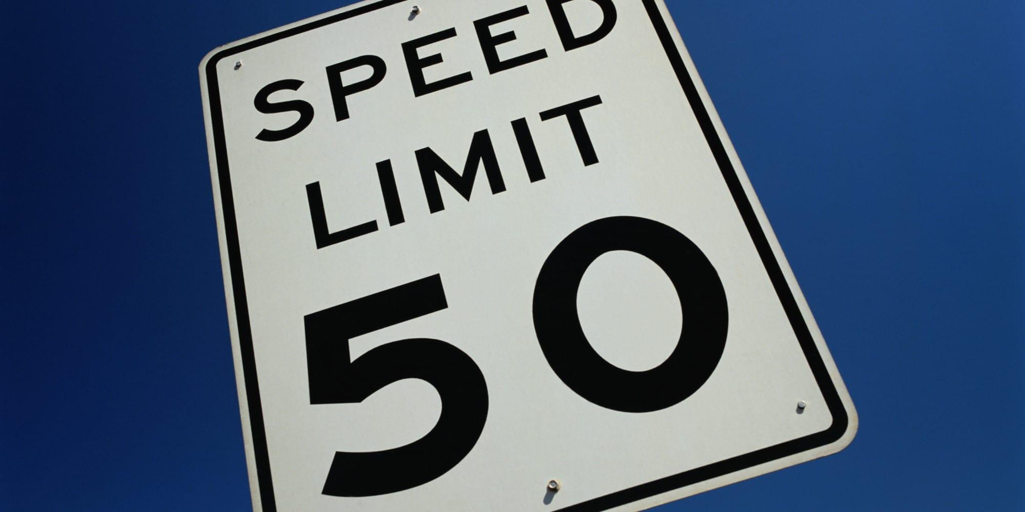 """Padrão """"50 km/h"""" em mais 4 avenidas de SP"""