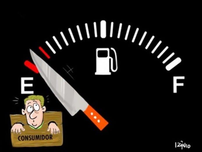E a gasolina no Brasil continua sendo uma das mais caras do mundo!