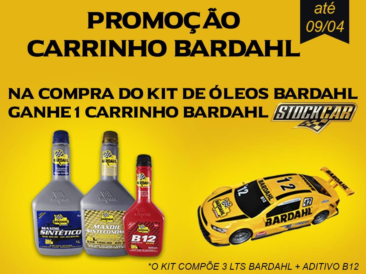 Promoção Carrinho Bardahl Stock Car