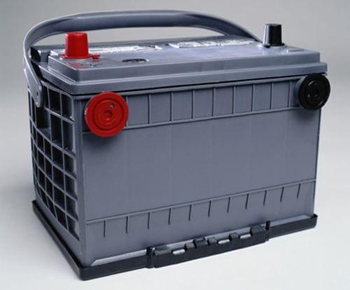 Recicle a bateria do veículo usada!