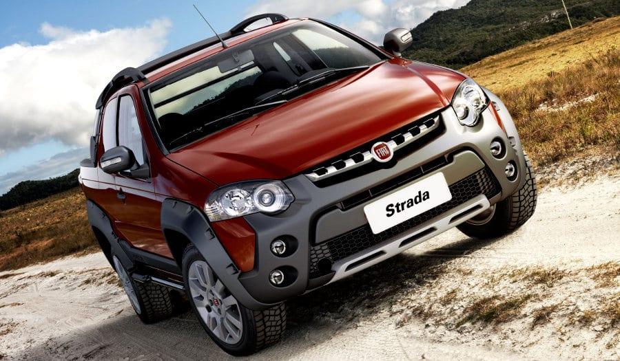 Fiat revela Strada Cabine Dupla três portas