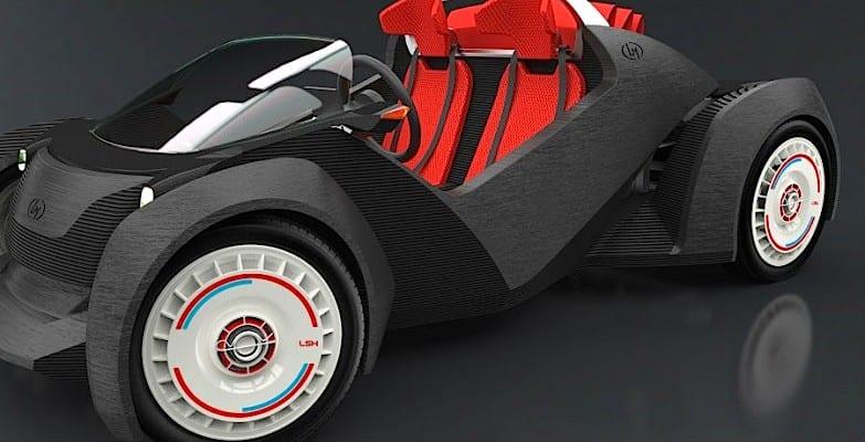 Surge o primeiro carro feito em 3D