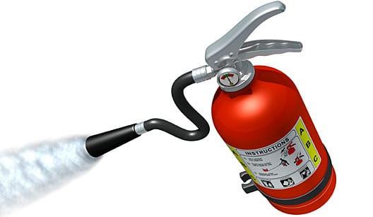 Extintor Veicular de Incêndio 'ABC'