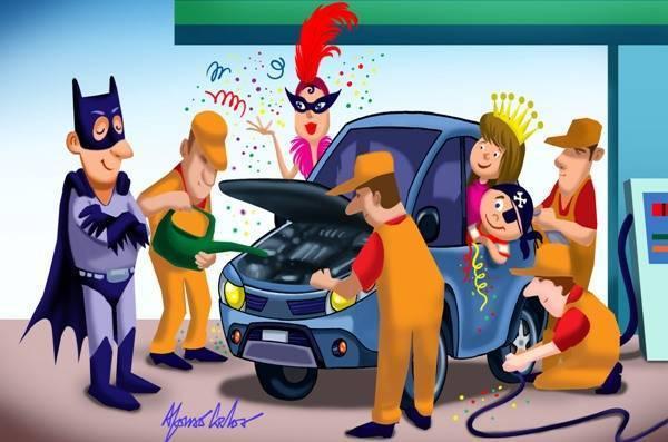 Chegou o Carnaval! Não esqueça da Lei Seca e revisão no carro.
