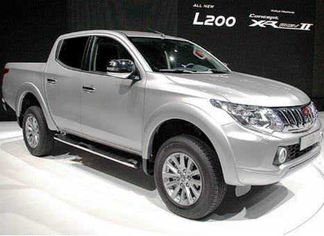Nova Mitsubishi L200 chega em 2016