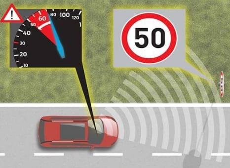 Sistema da Ford impede excesso de velocidade