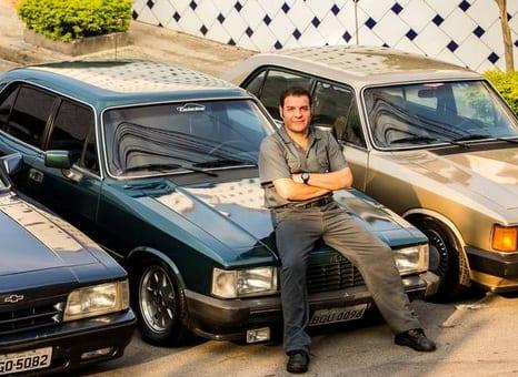 Colecionador tem seis Chevrolet Opala impecáveis