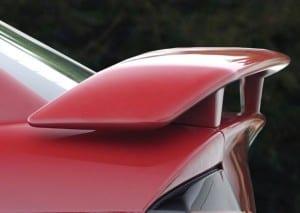 Aerofólio do Chevrolet Astra.