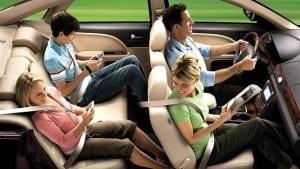 Segurança no banco de trás evita acidentes fatais!