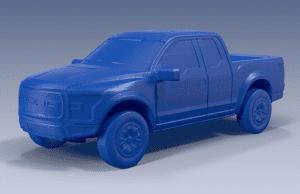 Ford Raptor 3D (foto divulgação).