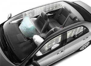 Airbag Corolla/Toyota (Foto divulgação)