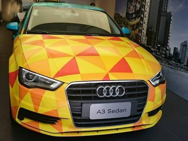 Audi do Brasil faz lançamento de flex nacional com homenagem a grande ídolo.