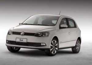 Modelo Gol da Volkswagen (Foto divulgação).