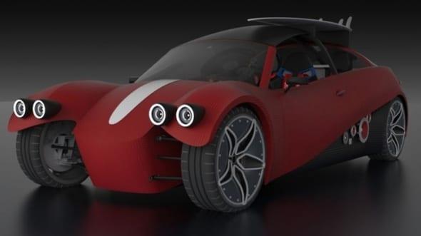 Conheçam o LM3D Swuin, o carro impresso em 3D