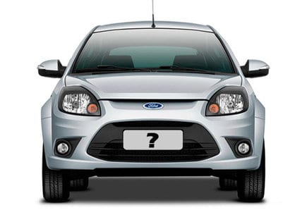 Saiba como escolher a placa do veículo