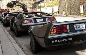 Mas o melhor de todos, é sem dúvida, o reboque DeLorean, mesmo sem as portas futuristas!!