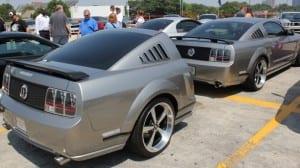 Estiloso mesmo é esse Mustang!!