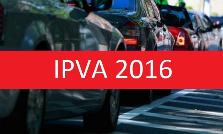 IPVA 2016: veja calendário para pagamento do imposto de veículos