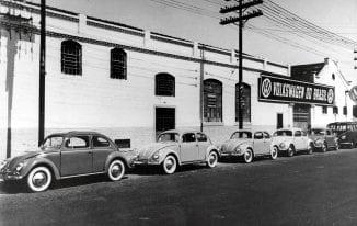 Os primeiros Fuscas produzidos no Brasil foram em 1959. (Foto ilustrativa).