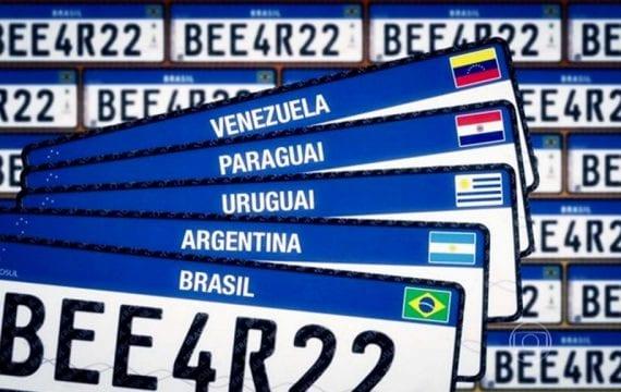Placa Mercosul: quarta versão mais simples e com novo prazo para adoção no país