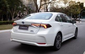 Principal novidade do Toyota Corolla 2020 é a motorização híbrida