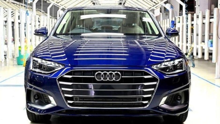 Audi do Brasil suspende produção de carros no país