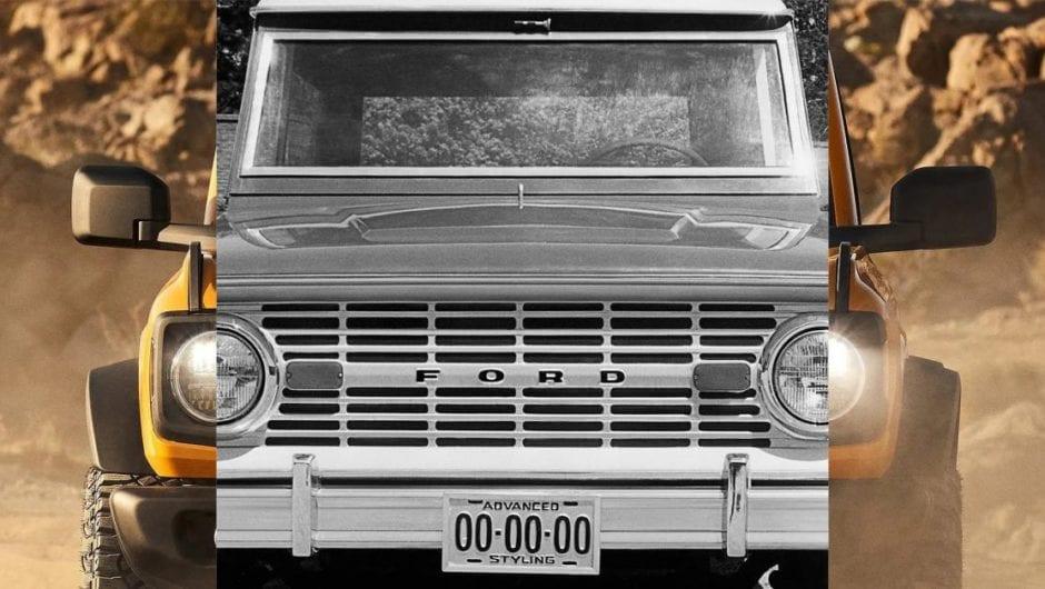 Ford Bronco será lançado dia 13 e virá para o Brasil