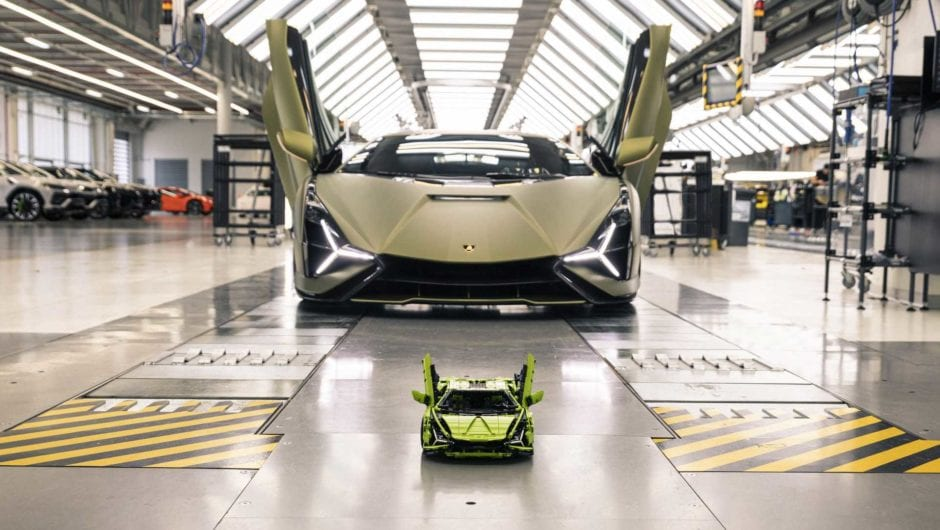 Lamborghini Sián ganha edição limitada da série Lego Technic