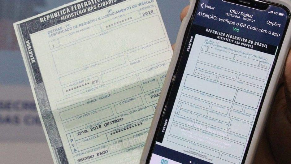 Licenciamento anual liberado após atender à convocação de recall