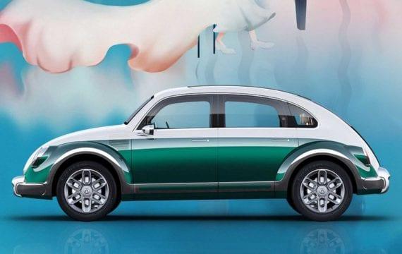 ORA Punk Cat: o sósia chinês e elétrico do Volkswagen Fusca