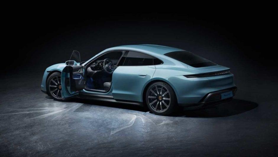 Porsche Taycan lidera vendas de elétricos no Brasil